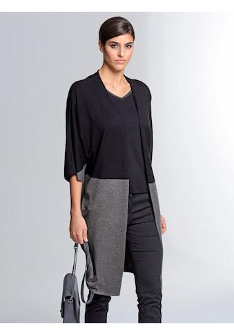 Alba Moda Strickjacke 2 - farbig gearbeitet kaufen