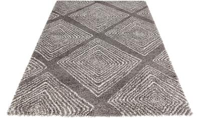Hochflor - Teppich, »Wire«, MINT RUGS, rechteckig, Höhe 35 mm, maschinell gewebt kaufen