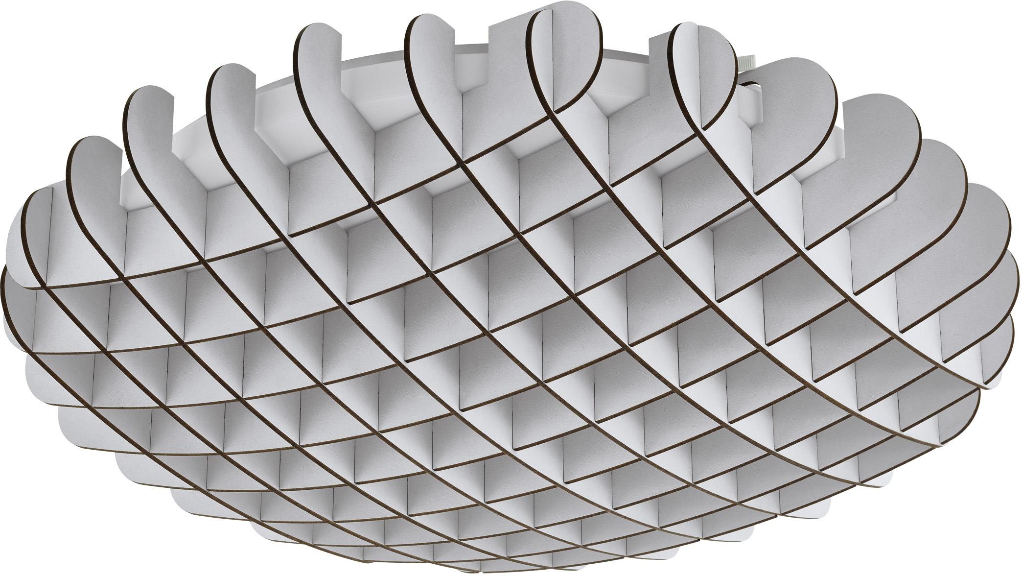 EGLO Deckenleuchte VALDECABRAS, LED-Board, Warmweiß, Deckenlampe