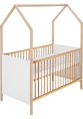 Schardt Babybett »Hausbett Sienna Nature«, Made in Germany kaufen