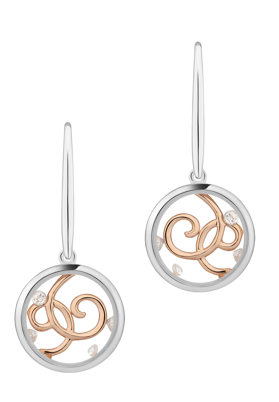 astra -  Paar Ohrhänger  WILD SPIRIT Hook Earrings Plain Frame