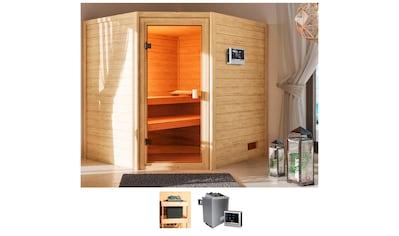 KARIBU Sauna »Ellen«, 195x169x187 cm, 9 kW Ofen mit ext. Steuerung kaufen