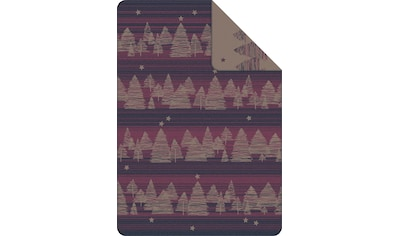 IBENA Wolldecke »Jacquard Decke Montana«, GOTS zertifiziert kaufen