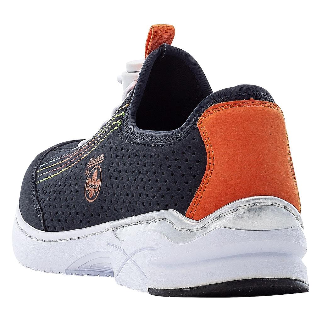 Rieker Slip-On Sneaker, mit komfortabler MemoSoft-Ausstattung
