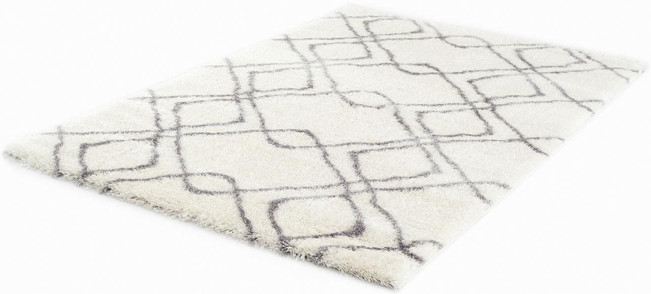Hochflor-Teppich Carmella 510 Festival rechteckig Höhe 45 mm maschinell gewebt