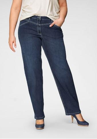 KjBRAND Straight-Jeans »Babsie: bequemer Oberschenkel«, mit Shapingeinsätzen kaufen