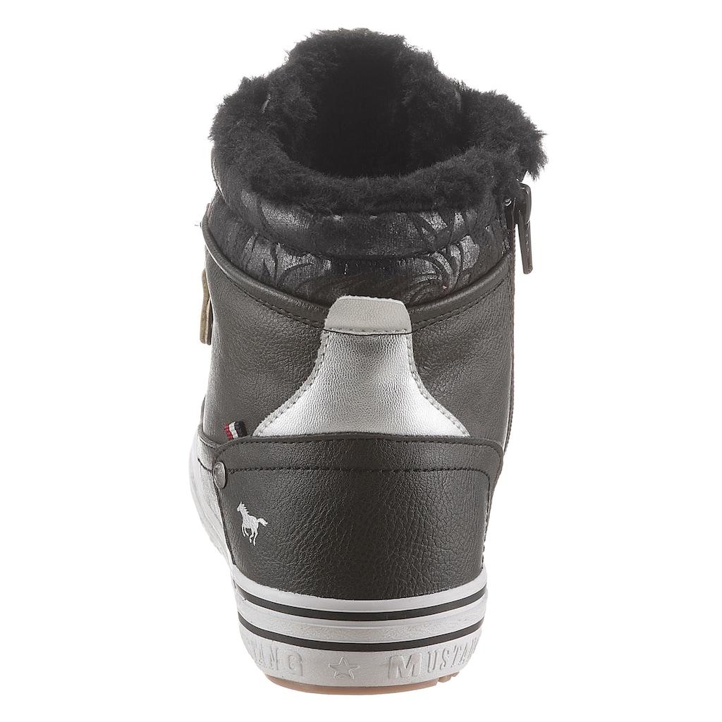 Mustang Shoes Winterboots, mit Reißverschluss
