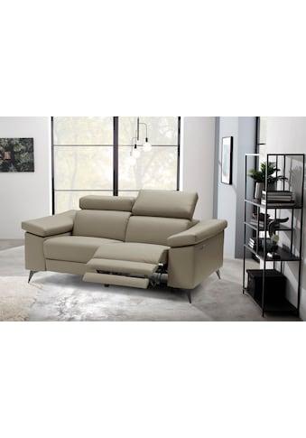 Places of Style 2-Sitzer »Samira«, mit elektrischer Relaxfunktion in einem Sitz und... kaufen