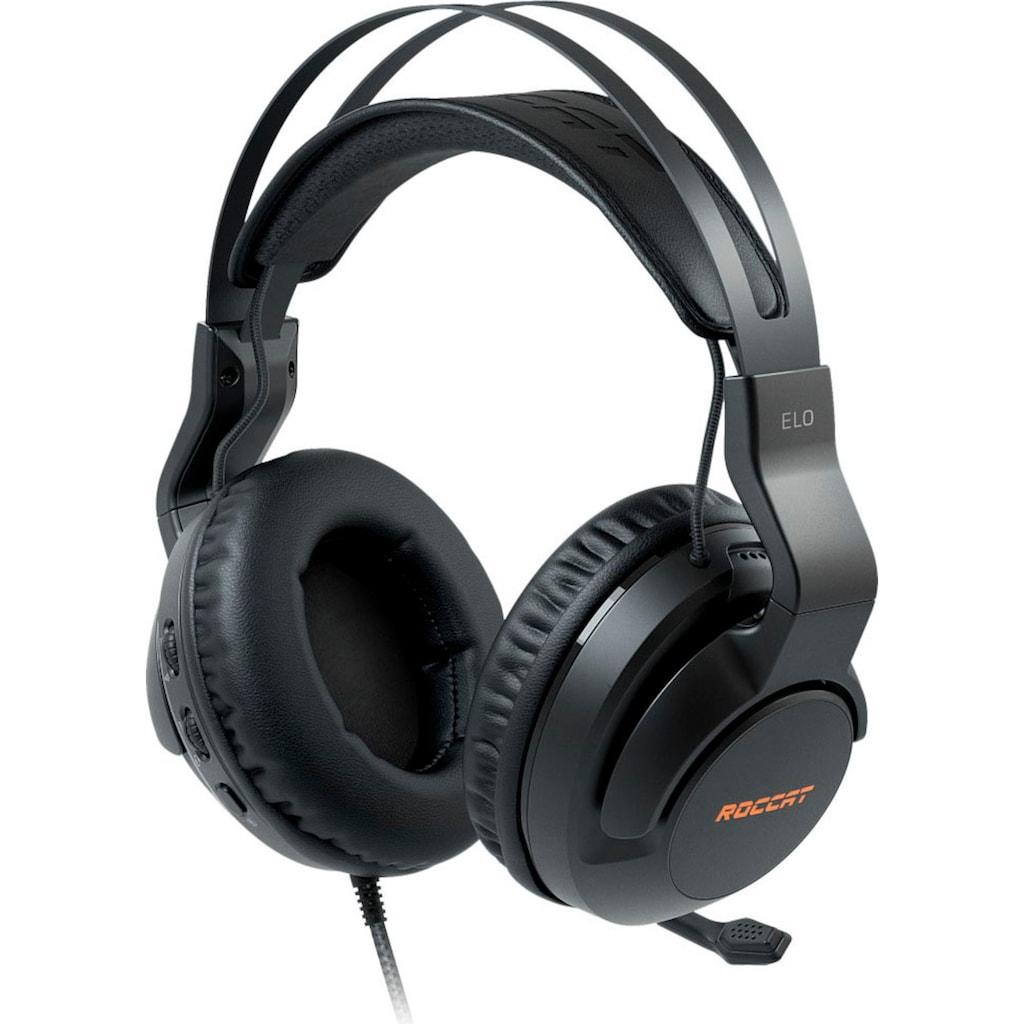 ROCCAT Gaming-Headset »Elo 7.1 USB - Surround-Sound RGB PC«, Mikrofon abnehmbar-Rauschunterdrückung