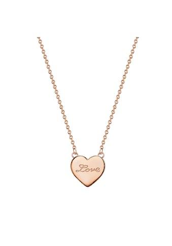 Glanzstücke München Herzkette »G227«, (1 tlg.), mit Herz aus Sterling Silber kaufen