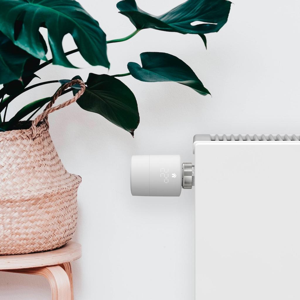 Tado Heizkörperthermostat »Smartes Heizkörper-Thermostat, Zusatzprodukt für Einzelraumsteuerung (Universal)«