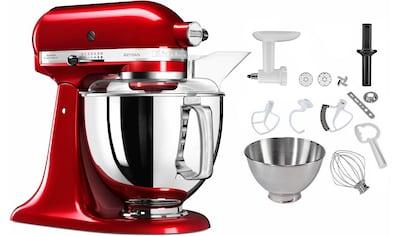 KitchenAid Küchenmaschine »5KSM175PSECA Artisan«, 300 W, 4,8 l Schüssel, inkl.... kaufen