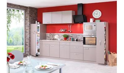 wiho Küchen Küchenzeile »Kansas«, mit E-Geräten, Breite 360 cm kaufen