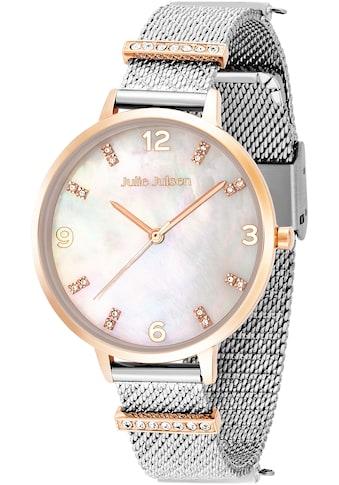 Julie Julsen Quarzuhr »Charming Pearl Bicolor, JJW1231RGSME-38-1« kaufen