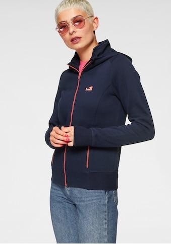 Ocean Sportswear Kapuzensweatjacke, mit kontrastfarbenen Reißverschlüssen kaufen