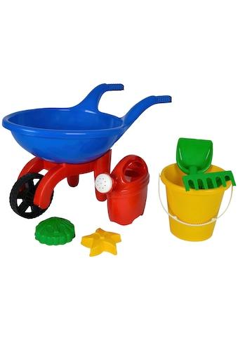 SIMBA Kinder-Gartenset, (Set, 7 tlg.), Baby Schubkarre gefüllt kaufen