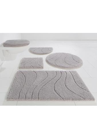 Badematte »Lola«, Home affaire, Höhe 22 mm, rutschhemmend beschichtet, fußbodenheizungsgeeignet kaufen