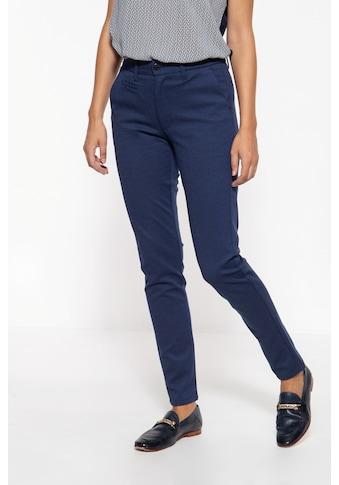 ATT Jeans Stretch-Hose »Sophie«, mit feinem Punktemuster kaufen