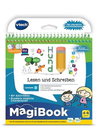 """Vtech® Buch """"MagiBook Lernstufe 2  -  Lesen und Schreiben"""" kaufen"""