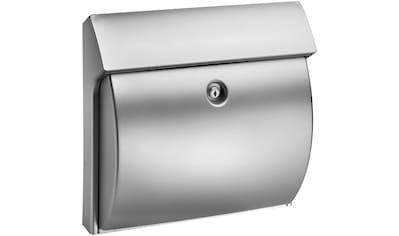BURG WÄCHTER Briefkasten »Classico 4932 Si«, Kunststoff kaufen