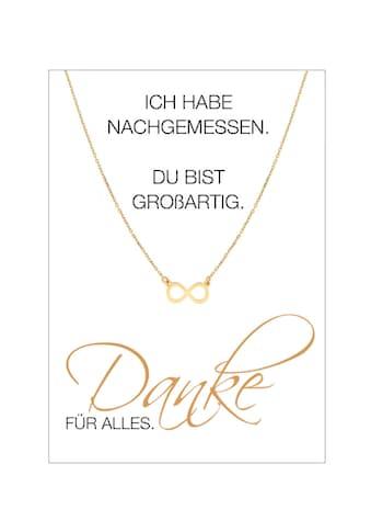 HERZ - KARTE Silberkette »Danke FÜR ALLES« kaufen