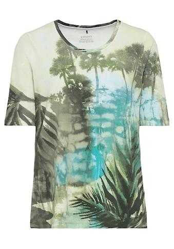 Olsen Rundhalsshirt, mit Dschungel-Motiv kaufen