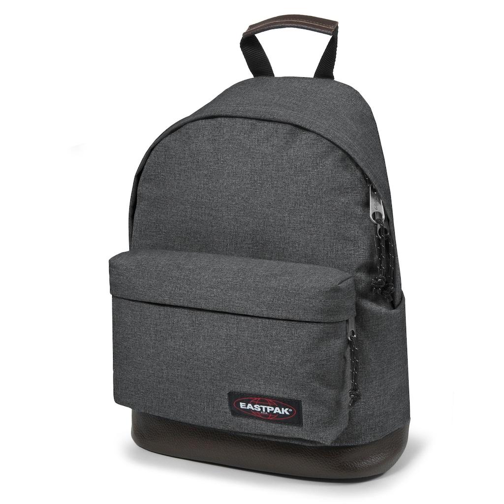 Eastpak Freizeitrucksack »WYOMING, Black Denim«, enthält recyceltes Material (Global Recycled Standard)