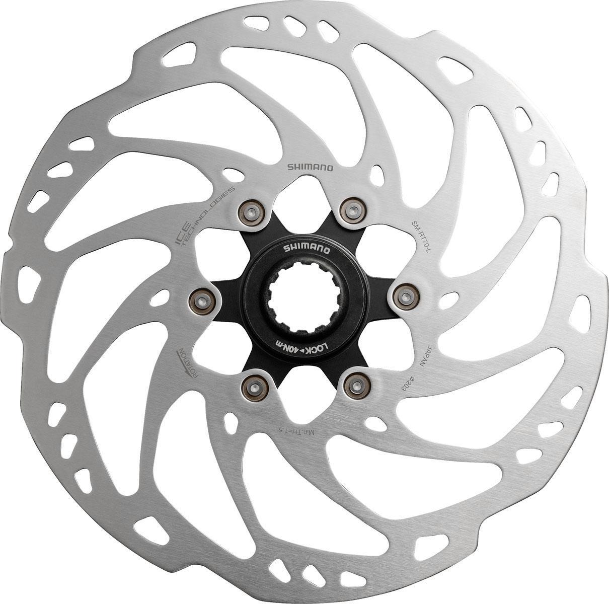Shimano Bremsscheibe SM-RT70L (1-tlg) Technik & Freizeit/Sport & Freizeit/Fahrräder & Zubehör/Fahrradzubehör/Fahrradteile/Fahrradbremsen