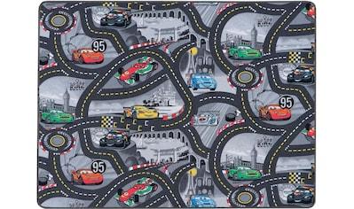 Primaflor-Ideen in Textil Kinderteppich »CARS«, rechteckig, 5 mm Höhe, Disney Cars Straßen-Spielteppich kaufen