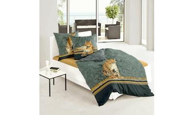 TRAUMSCHLAF Bettwäsche »Leopard«, edles Tiermotiv auf feinem Mako-Satin kaufen