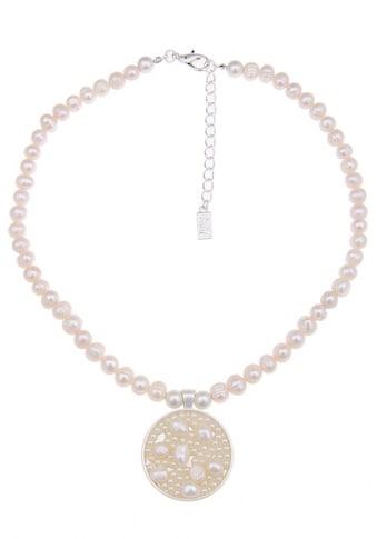 leslii Halskette mit rundem Perlen-Anhänger kaufen