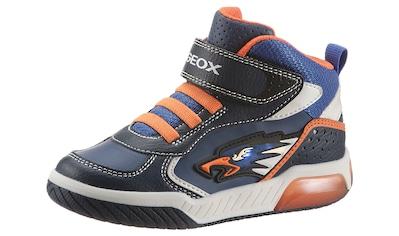 Geox Kids Sneaker »J Inek Boy Blinkschuh«, mit Blinkfunktion kaufen