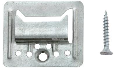RAMSES Profilholzkrallen , extra stark inkl. Schrauben 4 mm Stahl verzinkt 100 Stück kaufen