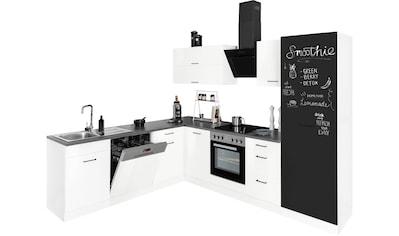 HELD MÖBEL Winkelküche »Trier«, mit E-Geräten, Stellbreite 220/270 cm kaufen