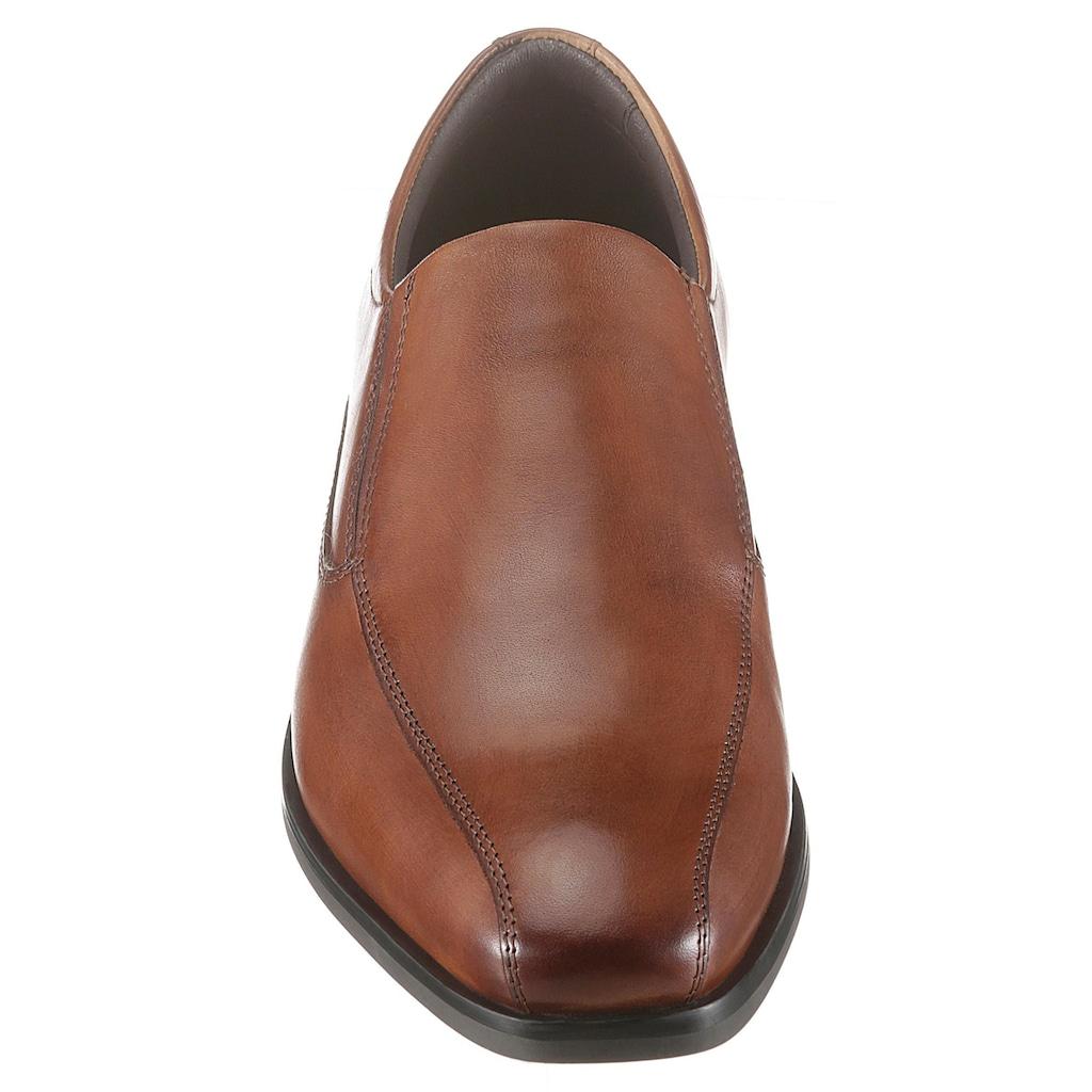 PETROLIO Slipper, in eleganter Form