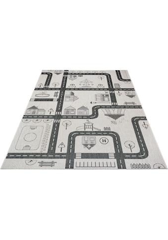 Lüttenhütt Kinderteppich »Henry«, rechteckig, 3 mm Höhe, In- und Outdoor geeignet kaufen