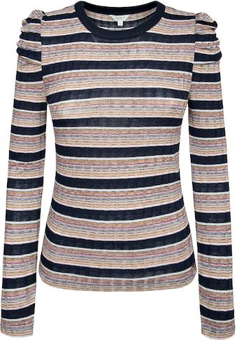 Pepe Jeans Rundhalspullover »ALMA«, im modischem Streifendessin kaufen