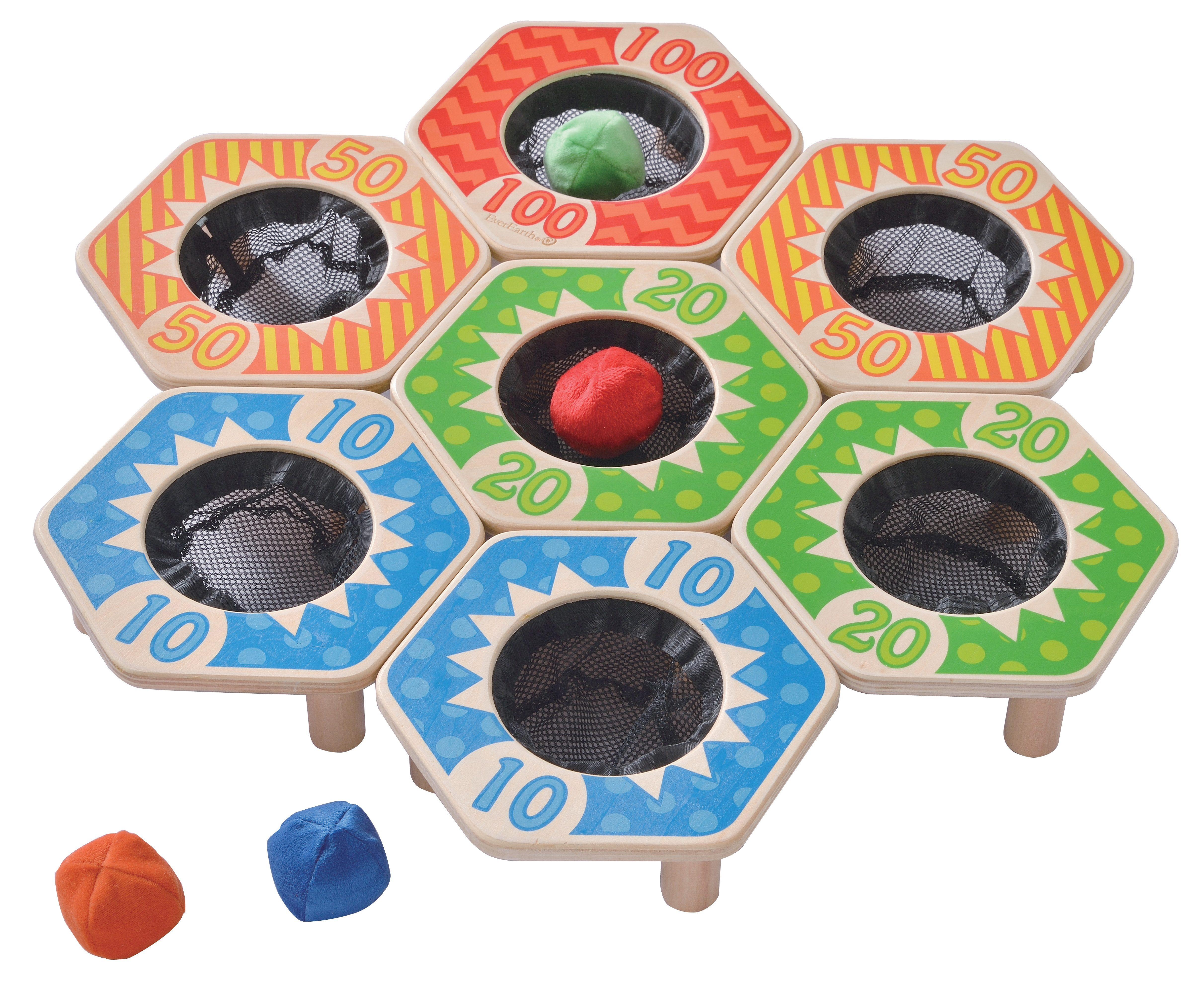 EverEarth Holz-Spiel Wurf-Ball-Spiel Preisvergleich