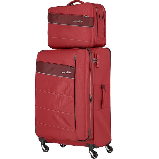 travelite Flugumhänger »Kite, rot«
