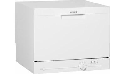 SIEMENS Tischgeschirrspüler iQ100, 8 Liter, 6 Maßgedecke kaufen