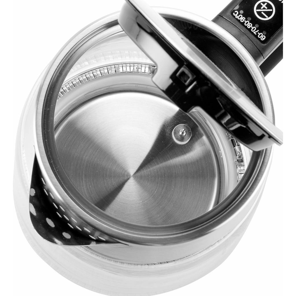 Tristar Wasserkocher »WK-3375«, 1,8 l, 2200 W, 5 Temperatureinstellungen, 360° rotierbar