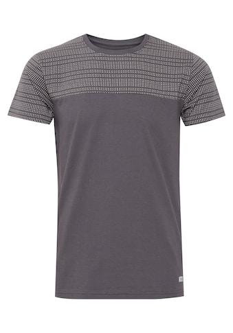 Indicode T-Shirt »Rosto«, T-Shirt im Colorblock-Look kaufen