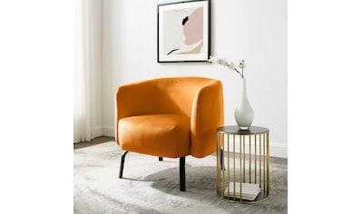 andas Loungesessel »Maribo«, aus einem schönen, weichen Velvetstoff, Design by Morten Georgsen kaufen