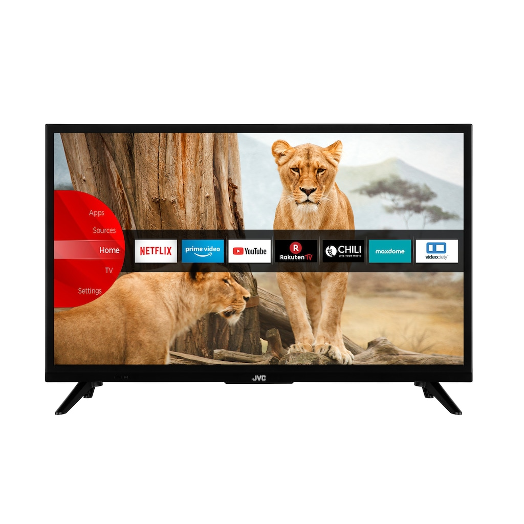 "JVC LED-Fernseher »LT-24VH5965«, 60 cm/24 "", HD-ready, Smart-TV"