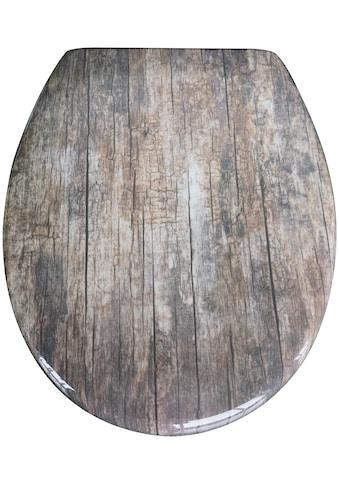 SCHÜTTE WC - Sitz »Old Wood« kaufen
