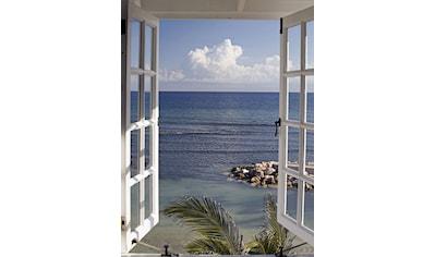 Home affaire Glasbild »Fenster mit Ausblick« kaufen