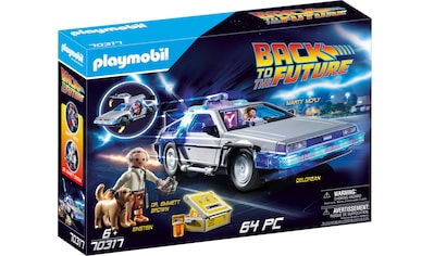 Playmobil® Konstruktions-Spielset »Back to the Future DeLorean (70317),Playmobil Back to the Future«, Made in Germany kaufen