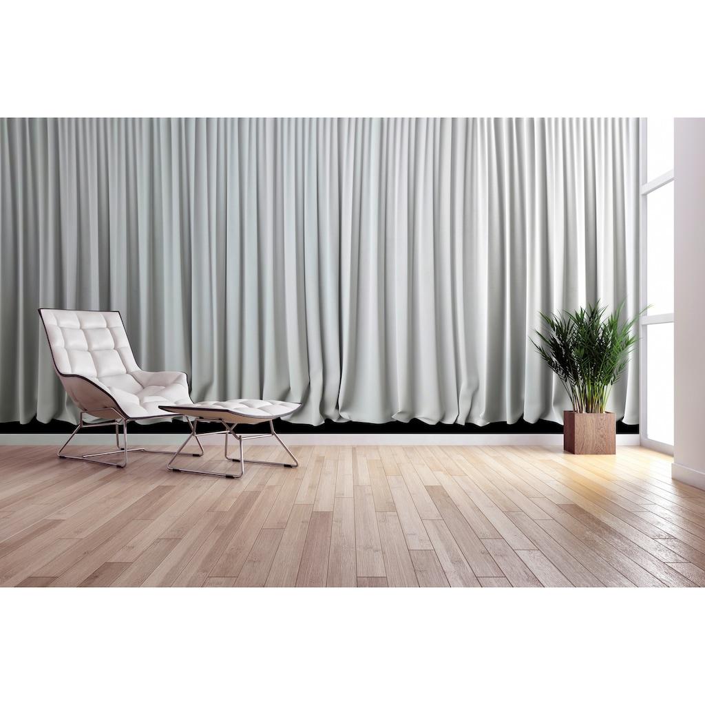 Architects Paper Fototapete »White Curtain«, Gardine, Vlies, glatt