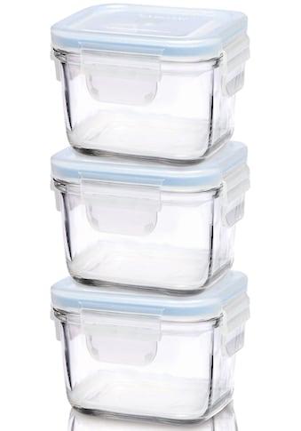 Glasslock Aufbewahrungsbox »Baby Meal«, (3 tlg.), rechteckig, á 150ml kaufen
