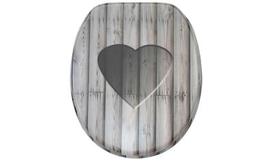 SANILO WC - Sitz »Wooden Heart« kaufen
